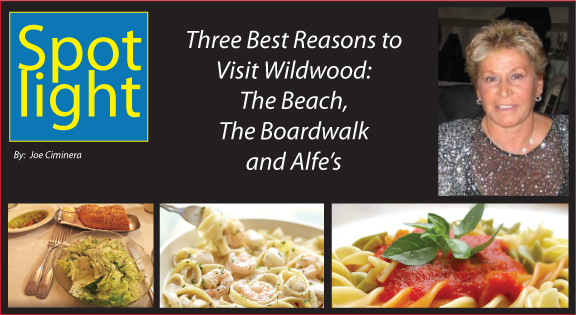 Three Best Reasons to Visit Wildwood: The Beach, The Boardwalk and Alfe's