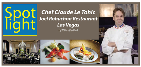 Chef Claude Le Tohic