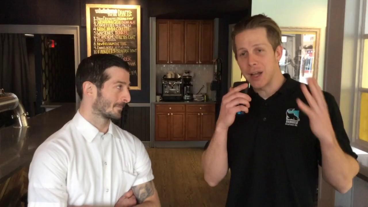 Bill Talks with Chef Eric Leveille