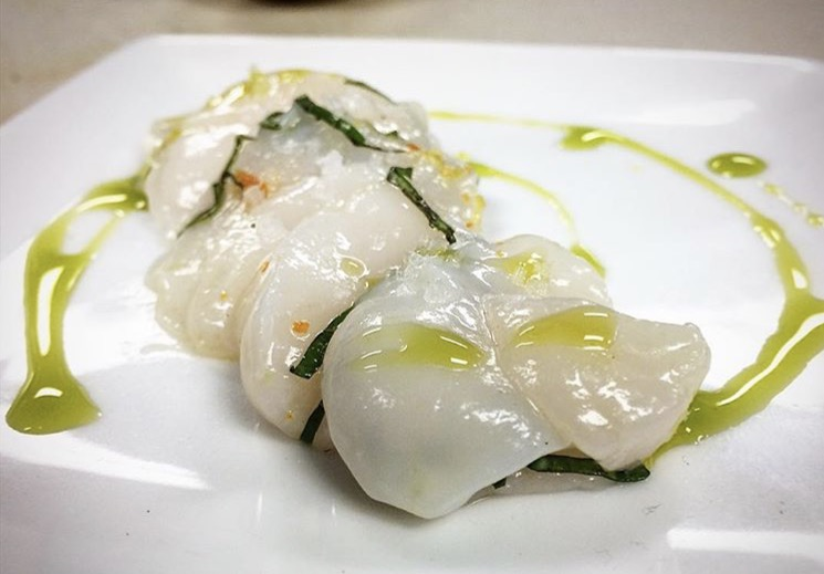 Scallop Crudo Recipe