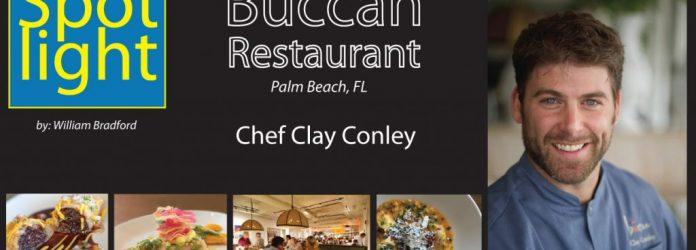 Chef Clay Conley, Būccan Restaurant, Palm Beach, FL