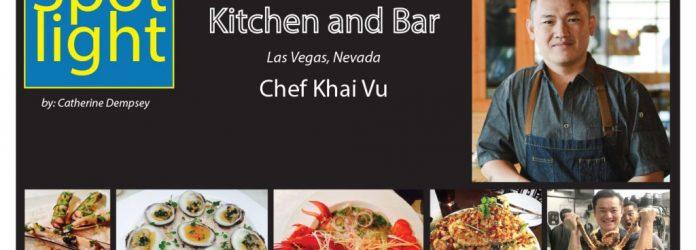 Chef Khai Vu, District One Kitchen and Bar