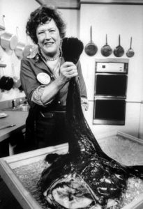 Celebrating Julia Child with 15 Inspiring Seafood Recipes.