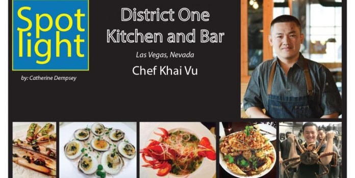 Chef Khai Vu, District One Kitchen and Bar