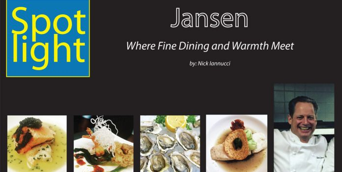 Jansen – Where Fine Dining and Warmth Meet