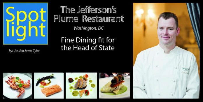 The Jefferson's Plume Restaurant, Fine Dining fit for the Head of State