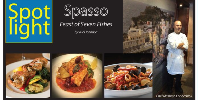 Spasso Restaurant Features Feast of Seven Fishes