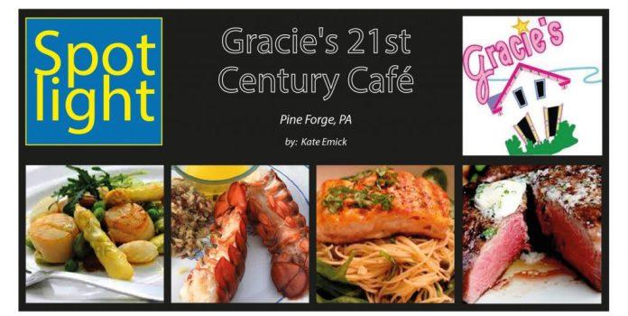 Gracie's 21st  Century Café, Pine Forge, PA