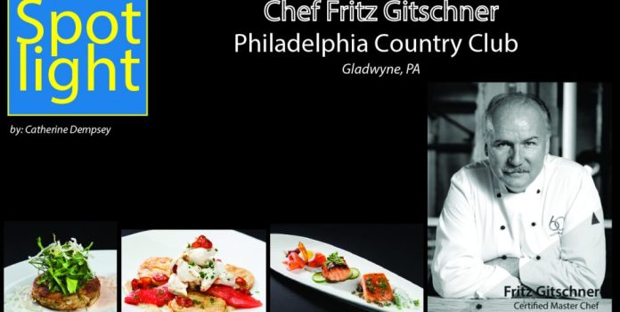 Philadelphia Country Club, Chef Fritz Gitschner