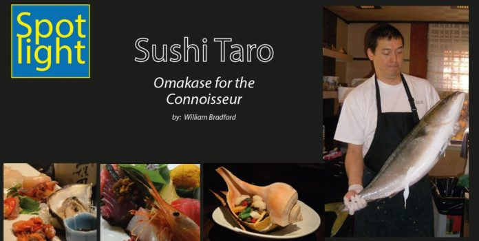Sushi Taro – Omakase for the Connoisseur